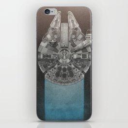 Millennium Falcon (Re-Release) iPhone Skin