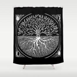 Druid Tree Of Life Shower Curtain