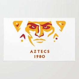 Aztecs 1980 Rug