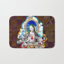 Sagrado Coração de Jesus (Sacred Heart) #1 Bath Mat