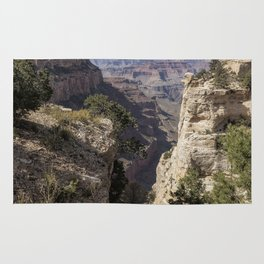 A Vertical View - Grand Canyon Rug