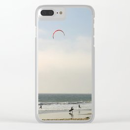 Kite Surfing Clear iPhone Case