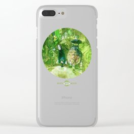Bus Stop Clear iPhone Case