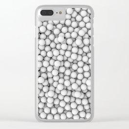 Golf balls Clear iPhone Case