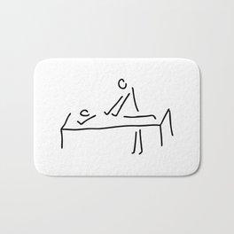cure massage Bath Mat