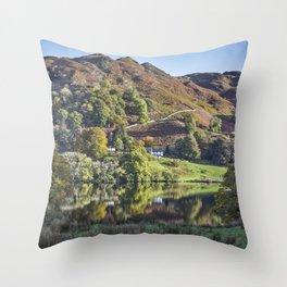 Loughrigg Tarn. Throw Pillow