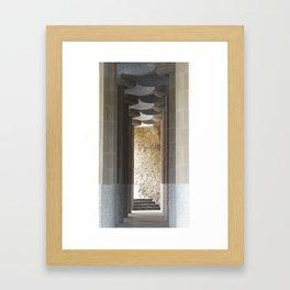 Guell  Framed Art Print