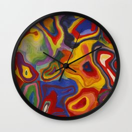 Embedded creation in mind Wall Clock