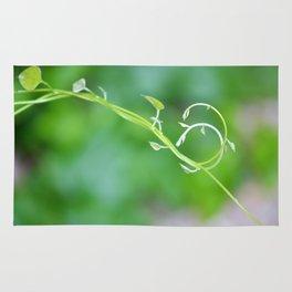 Cute Baby Curlicue Vines Rug