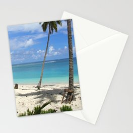 Blue Beach Stationery Cards
