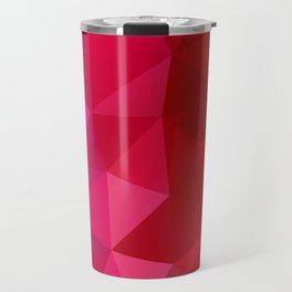 Rainbow Polygons Travel Mug