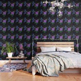 """Blue Hummingbird"" by KC Krimsin Wallpaper"