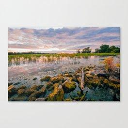 Pure Michigan Sunset Canvas Print