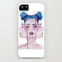 Three Faced iPhone Case