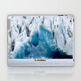 Ride to the Alaskan Glacier Laptop & iPad Skin