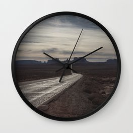 Wanderlust Road - Desert Moods Wall Clock