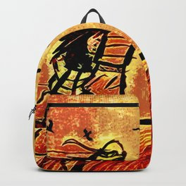 Samurai Woman (Onna-bugeisha) Backpack
