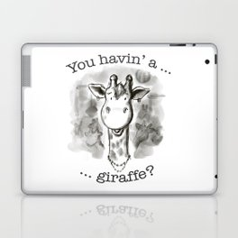 Cockney Giraffe Laptop & iPad Skin