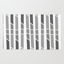 Stripes geometric patterns Rug