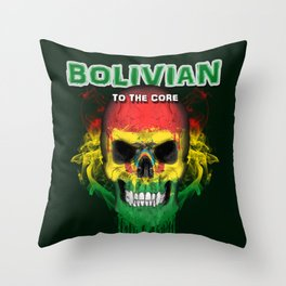 To The Core Collection: Bolivia Throw Pillow