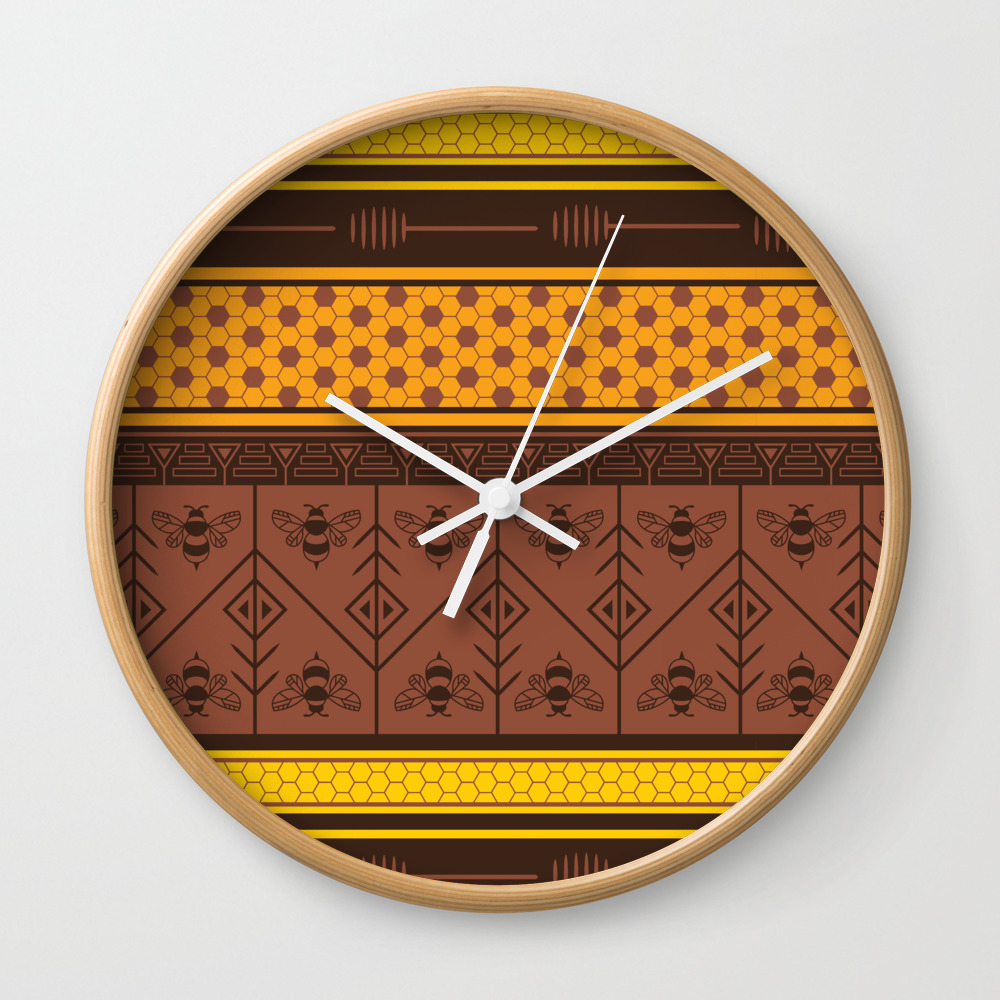 Waxing Poetic Wall Clock by Goddammitstacey CLK8662952