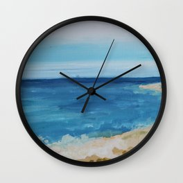 By the Sea Side Wall Clock