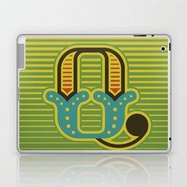 Alphabet Drop Caps Series- Q Laptop & iPad Skin