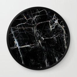 Black Marble Edition 1 Wall Clock