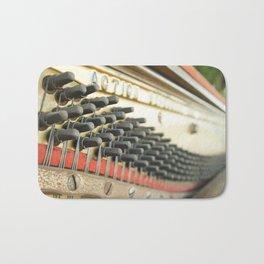 On Key Abandoned Piano Urbex, Urban Exploration, Music, Musical, Instrument Bath Mat