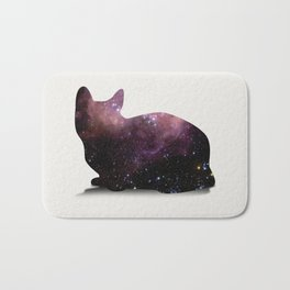 Willow the Galaxy Cat! Bath Mat