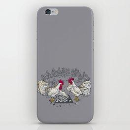 Cockfight iPhone Skin