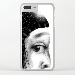 Emma's cautiousness Clear iPhone Case