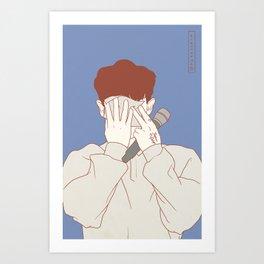 Chanyeol1 Art Print