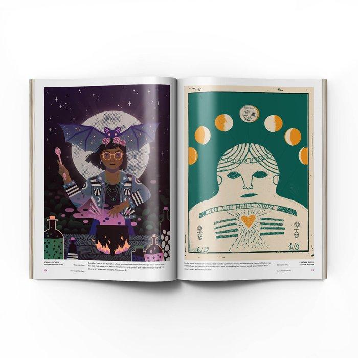 No. 4.3 + Flipside Full Moon Edition Art Quarterly