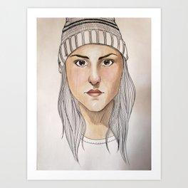 Toque Art Print