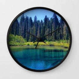 Crystal Clear Wall Clock