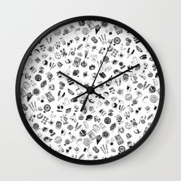 All over Sushi! Wall Clock