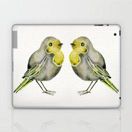 Little Yellow Birds Laptop & iPad Skin