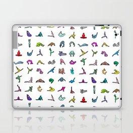 Rainbow Yoga Poses Laptop & iPad Skin