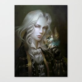 Alucard. Castlevania Symphony of the Night Canvas Print
