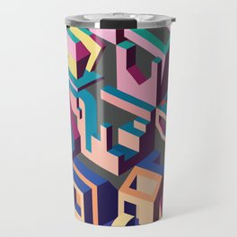 Psychedelic Dissection Travel Mug