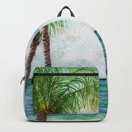 Peaceful Mexico Beach Backpack