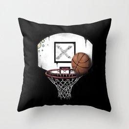basketball Throw Pillow