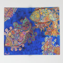 The Water Angels Throw Blanket