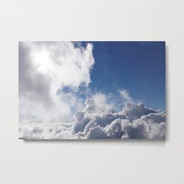 Cloud 9 Metal Print