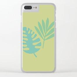 Botanical #1 Clear iPhone Case