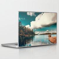 belle Laptop & iPad Skins featuring Belle Svezia by HappyMelvin