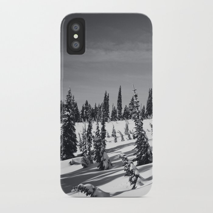 snow-covered iPhone Case