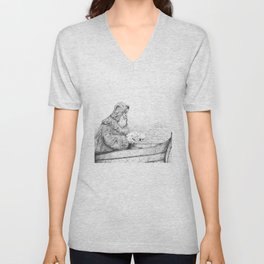 Father Mapple's Passage from Life into Death Unisex V-Neck
