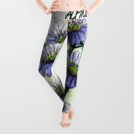 Alpine Aster Leggings